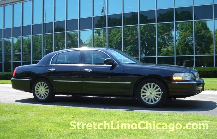 Chicago town car sedan hourly service
