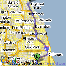 Fort Sheridan limo and car service   O'Hare Midway airport flat rates