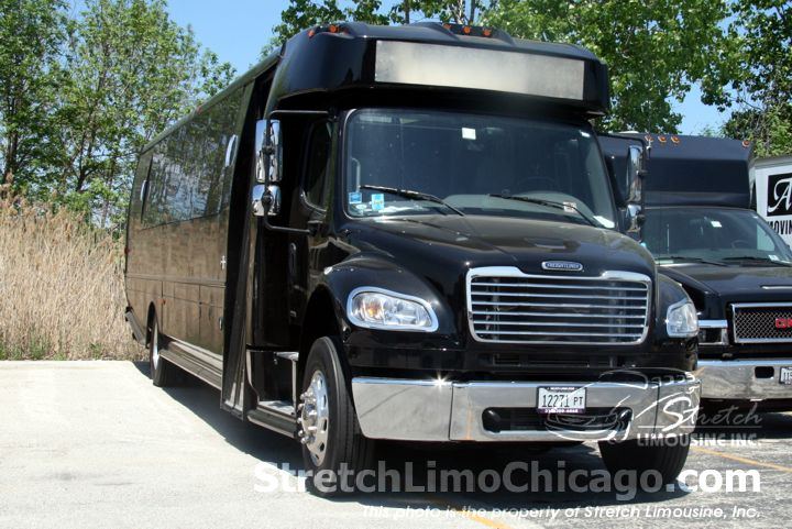 freightliner limo bus exterior