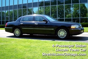 Corporate Limo Rental and Chicago corporate limousine service