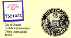 chicago airport departure tax