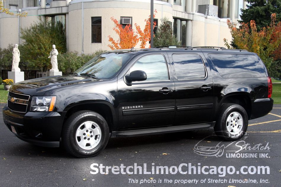 chevy suburban suv outside view