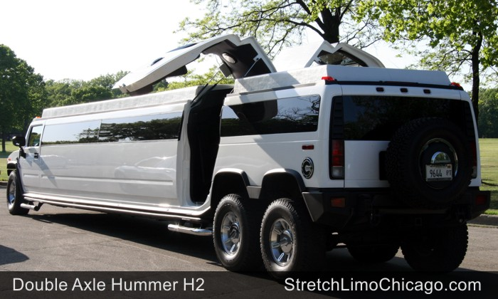 chicago hummer limo