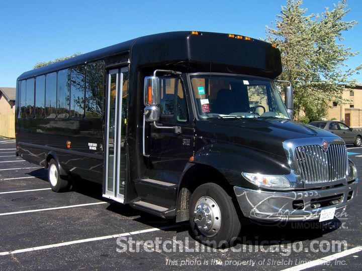 chicago mini bus rentals