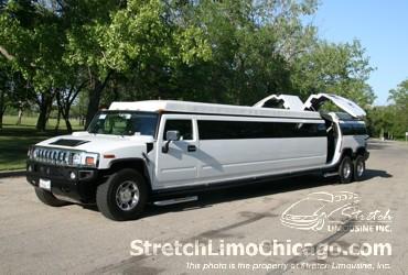 double axle hummer limo