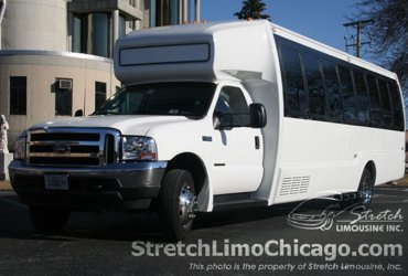 Standard Ford F550 Limo Party Bus