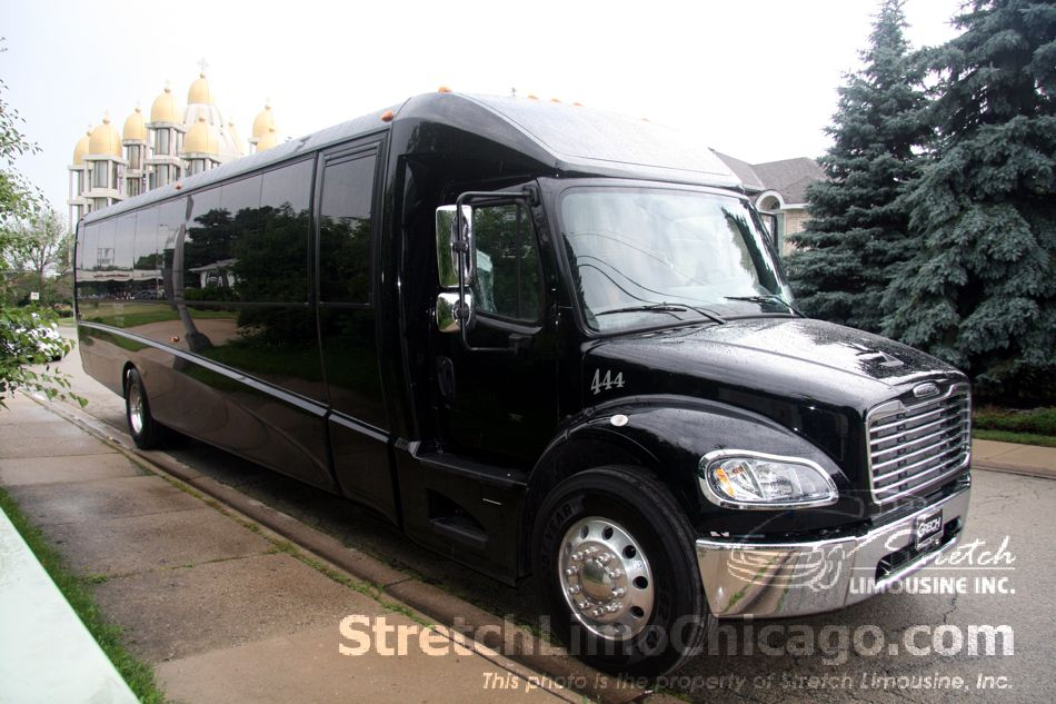 Grech Motors Gm40 44 To 52 Passenger Luxury Bus In Chicago