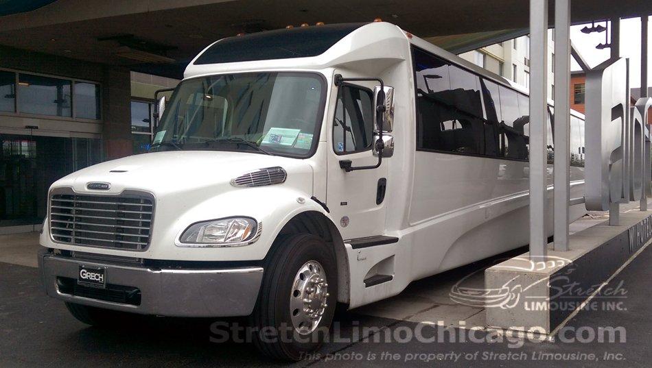 Grech Motors Gm45 44 To 52 Passenger Luxury Bus In Chicago