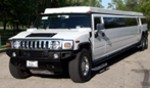 dual axle hummer prom package