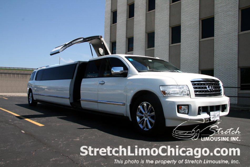 Infinity Qx56 Suv Limo In Chicago Infinity Limo Photos