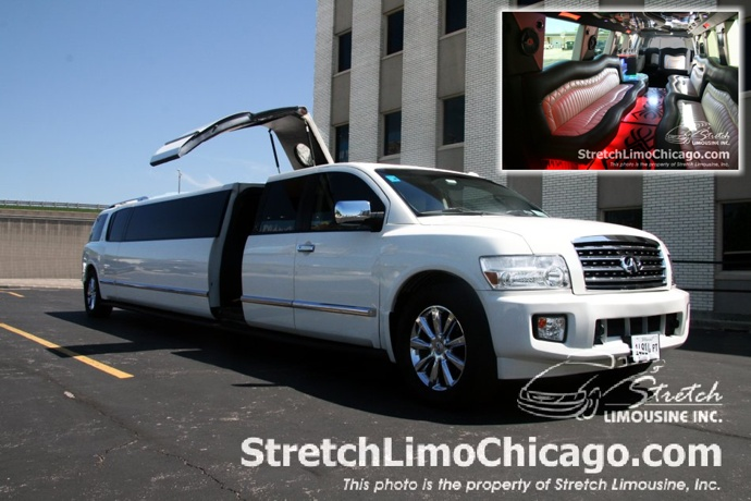 infinity limo wedding