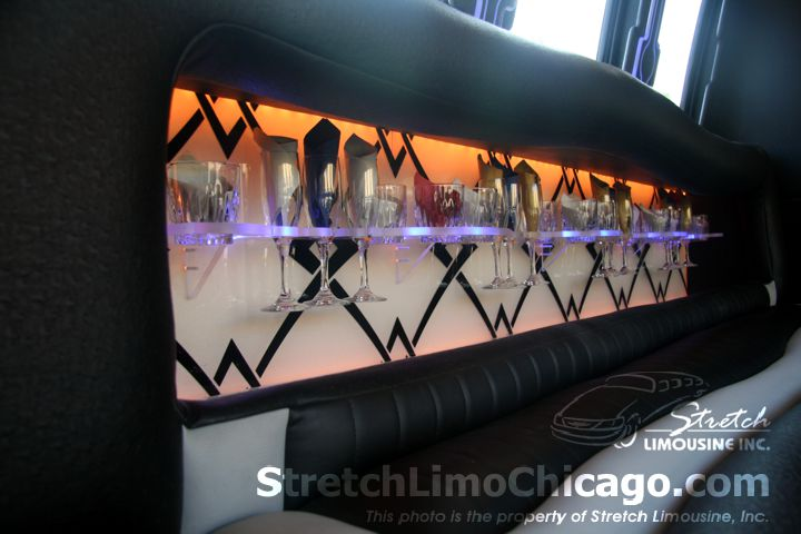 chicago limousine bus