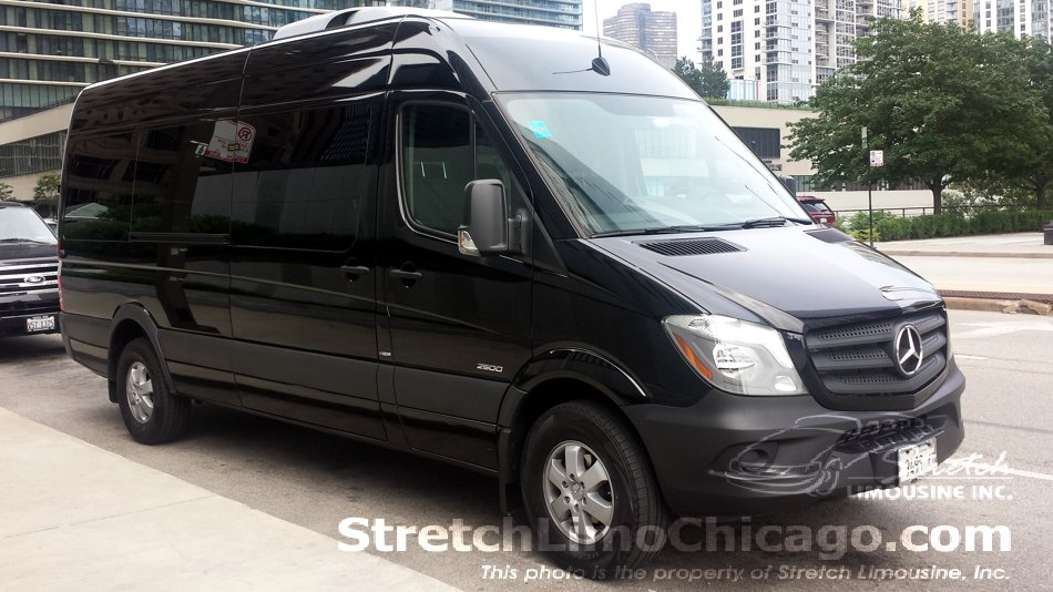 mercedes sprinter van rental chicago