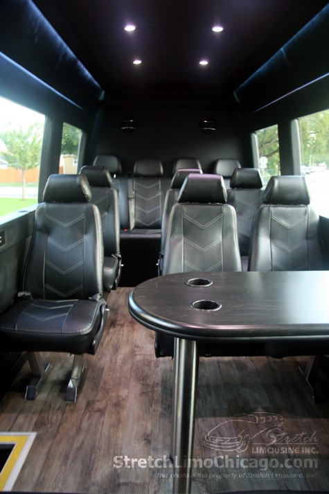 Mercedes Sprinter Passenger Van Chicago Van Rental