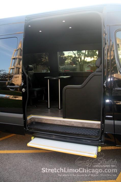 Mercedes sprinter passenger van chicago van rental for Mercedes benz sprinter rental chicago
