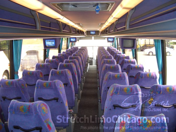 Image gallery motor coach bus for Motor city party bus
