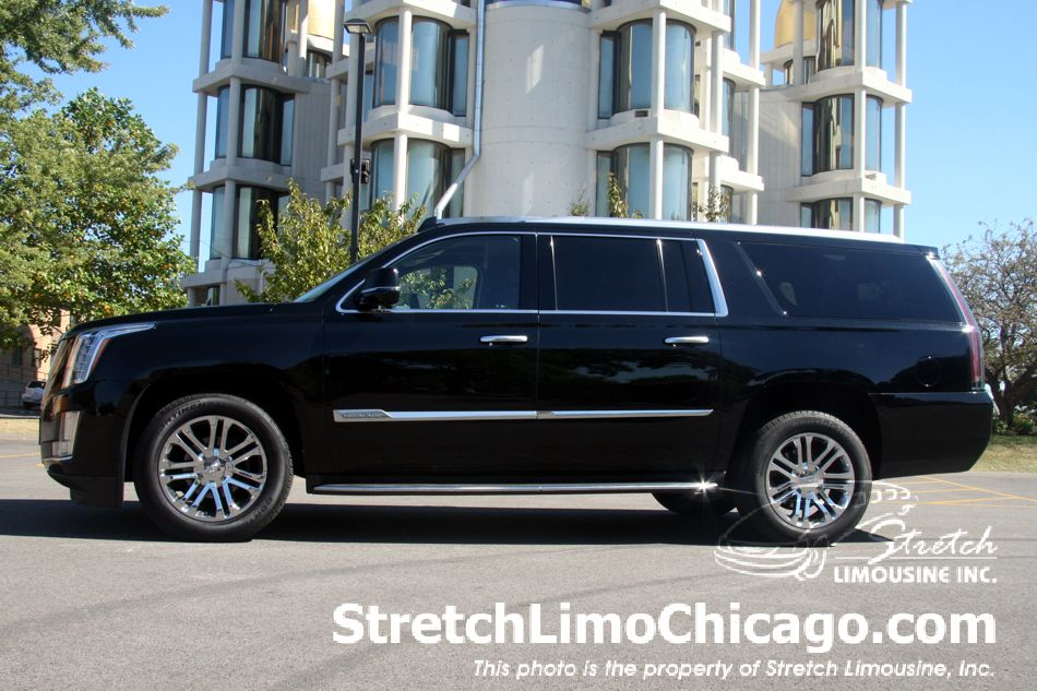 cadillac escalade suv esv side view