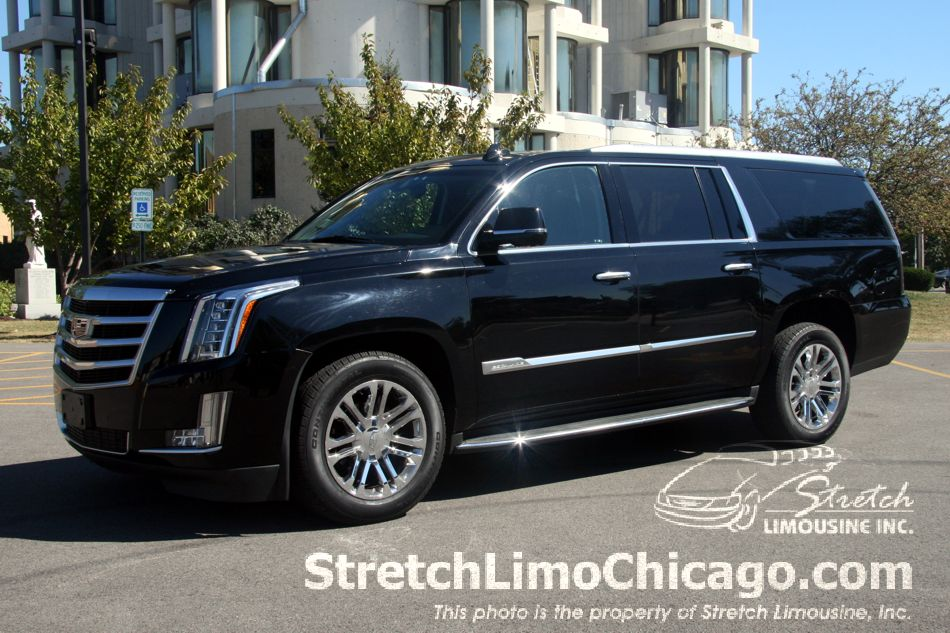 cadillac escalade esv luxury suv outside view