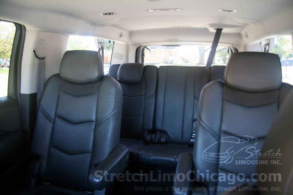 cadillac escalade captain seats and 3rd row