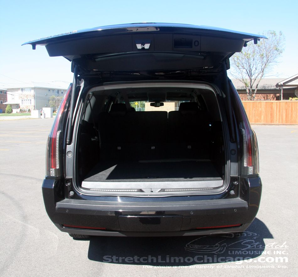 cadillac escalade esv trunk and cargo space