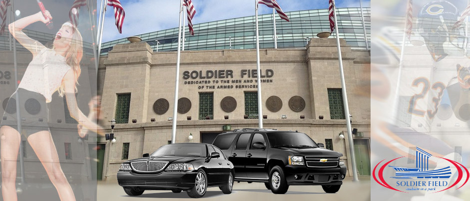 solider field limo and suv