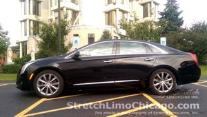 cadillac xts airport car