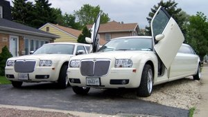chrysler 300 stretch limo