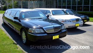 lincoln towncar stretch airport limousine
