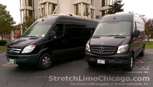 mercedes sprinter van airport car