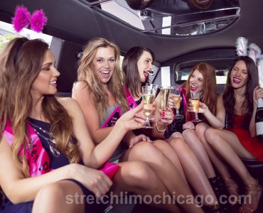 bachelorette party hourly limo service